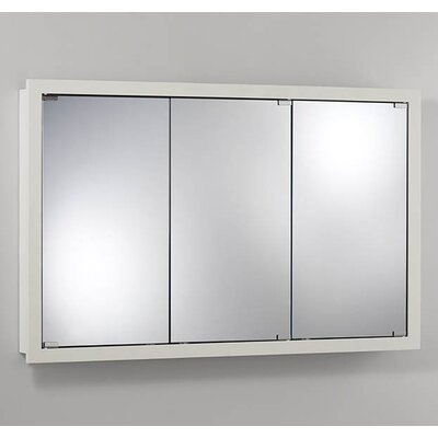 48 x 30 Surface Mount Medicine Cabinet Finish: White