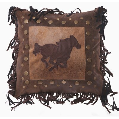 Lassay Horse Rivest Western Throw Pillow