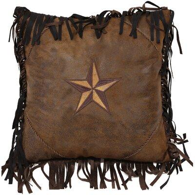 2-Tone Star Throw Pillow