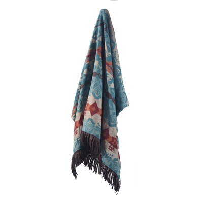 Turquoise Chamarro Throw