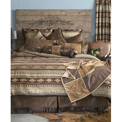 Brown Mustang Comforter Collection