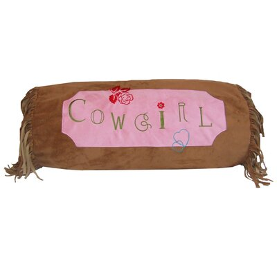 Cowgirl Bolster Pillow