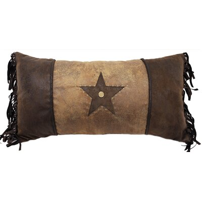Brown Mustang Lumbar Pillow