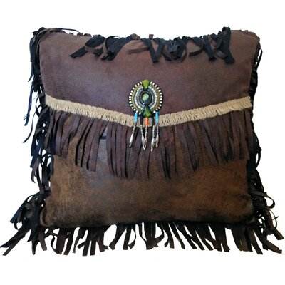 Pecos Trail Throw Pillow