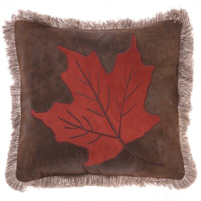 Leclerc Maple Leaf Throw Pillow
