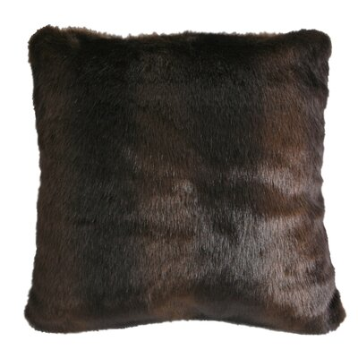 Adirondack Faux Fur Throw Pillow
