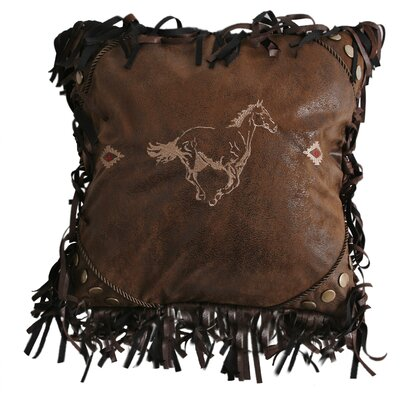 Suhel Horse Square Throw Pillow