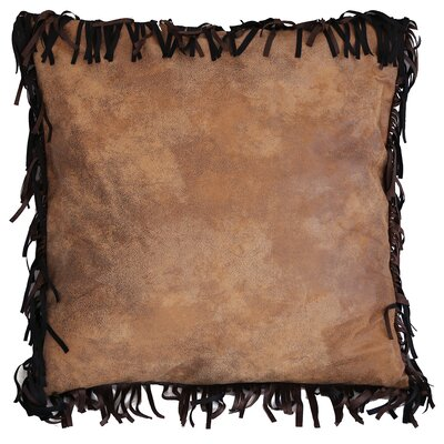 Brown Mustang Euro Pillow Cover