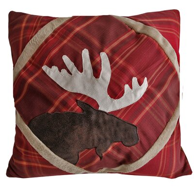 Sagamore Lake Plake Throw Pillow