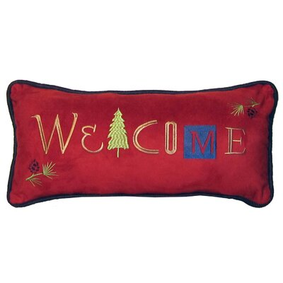 Larue Welcome Cabin Lumbar Pillow