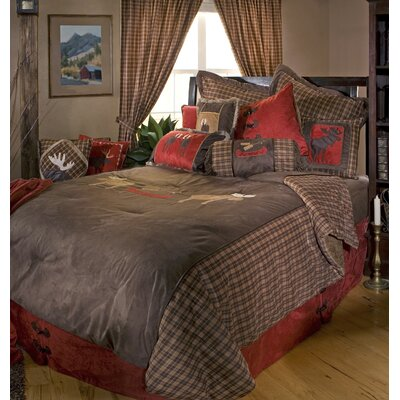 Moose Plaid Comforter Collection