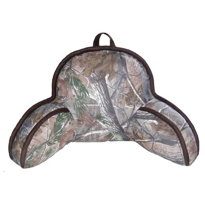 Realtree AP Bed Rest Pillow Color: Green