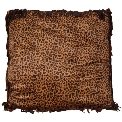 Cowgirl Leopard Euro Pillow