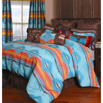 Arizona Southwest Comforter Set Size: King