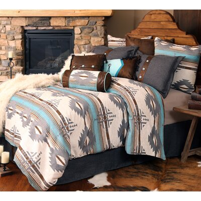 Badlands Southwest Comforter Set Size: King