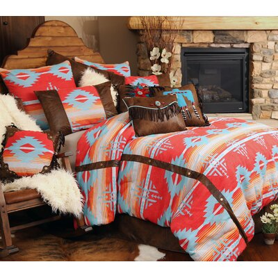Branch Southwest Comforter Set Size: Queen