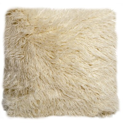 Hubbard Faux Fur Throw Pillow