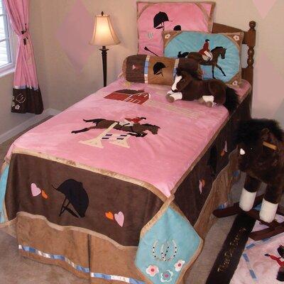 English 5 Piece Full Reversible Bedding set