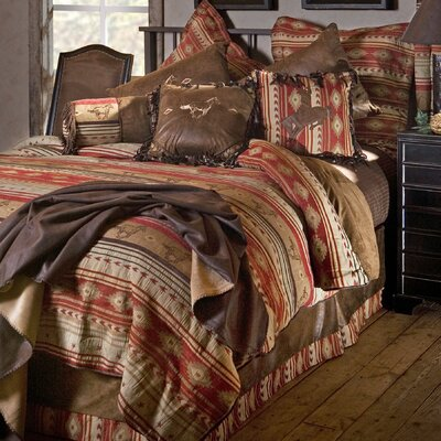 Flying Horse Reversible Comforter Set Size: King