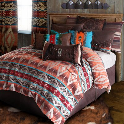 Mojave Sunset Reversible Comforter Set Size: Twin