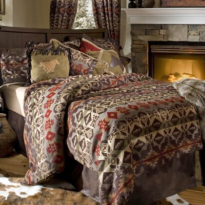 Montana Reversible Comforter Set Size: King