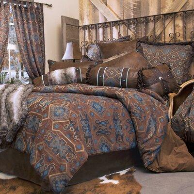 Celeste Desert Reversible Comforter Set Size: Queen