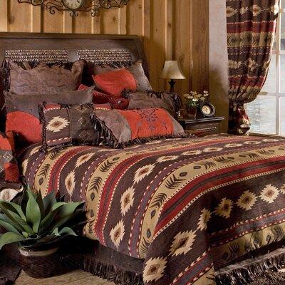 Cimarron Reversible Comforter Set Size: King