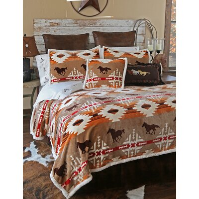 Free Rein 5 Piece Comforter Set Size: Queen