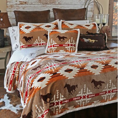 Free Rein 5 Piece Comforter Set Size: King