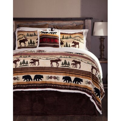Hinterland 5 Piece Comforter Set Size: King