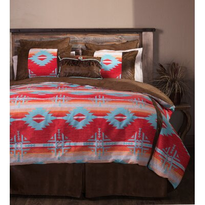 Branch Southwest Comforter Set Size: Twin