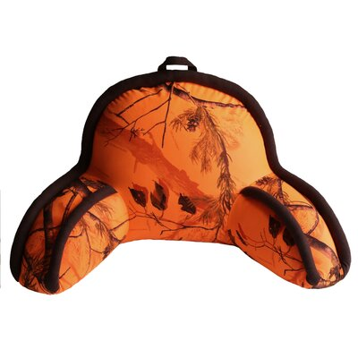 Realtree AP Bed Rest Pillow Color: Orange