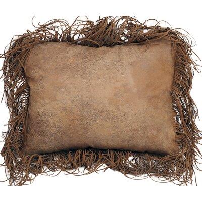 Lenore Tobacco Fringe Lumbar Pillow
