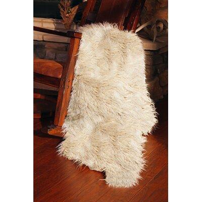 Kaela Sheepskin Faux Fur Throw