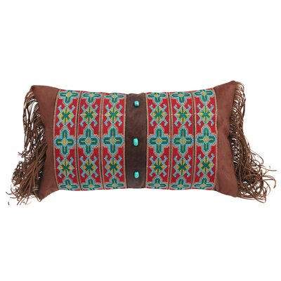 Lemaire Southwest Embroidered Band Lumbar Pillow