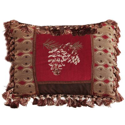 Lefebre Pine Cone Lumbar Pillow