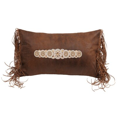 Levesque Beaded Fringe Lumbar Pillow