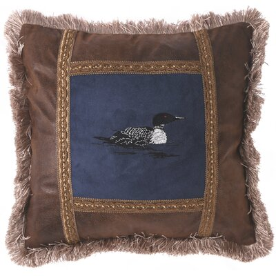 Latulipe Blue Duck Lakehouse Throw Pillow