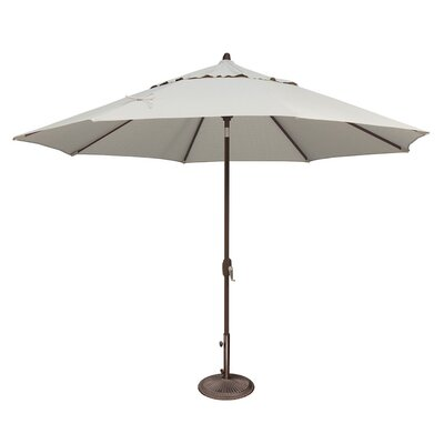 11 Lanai Market Umbrella Fabric: Sunbrella / Natural