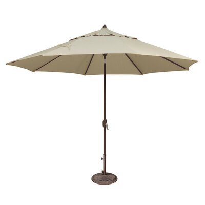 11 Lanai Market Umbrella Fabric: Sunbrella / Antique Beige