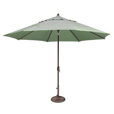 11 Lanai Market Umbrella Fabric: Sunbrella / Spa