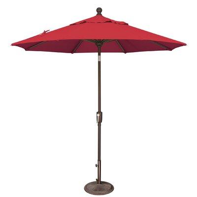 7.5 Catalina Market Umbrella Fabric: Sunbrella / Jockey Red