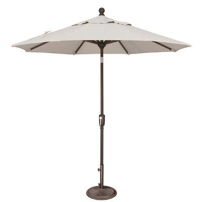 7.5 Catalina Market Umbrella Fabric: Sunbrella / Natural