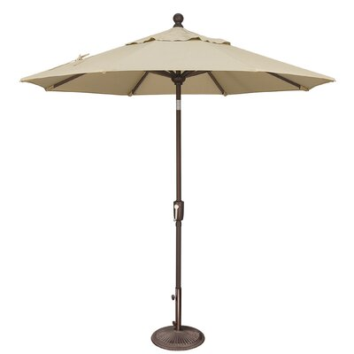 7.5 Catalina Market Umbrella Fabric: Sunbrella / Antique Beige