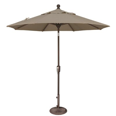 7.5 Catalina Market Umbrella Fabric: Sunbrella / Cocoa