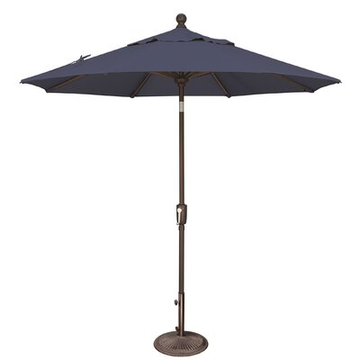 7.5 Catalina Market Umbrella Fabric: Sunbrella / Navy
