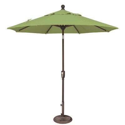 7.5 Catalina Market Umbrella Fabric: Sunbrella / Ginkgo