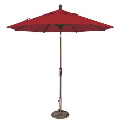 7.5 Catalina Market Umbrella Fabric: Solefin / Really Red