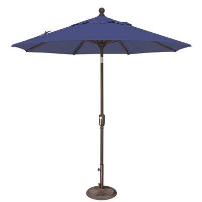 7.5 Catalina Market Umbrella Fabric: Solefin / Sky Blue