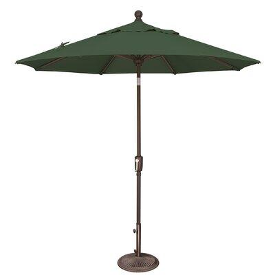 7.5 Catalina Market Umbrella Fabric: Solefin / Forest Green